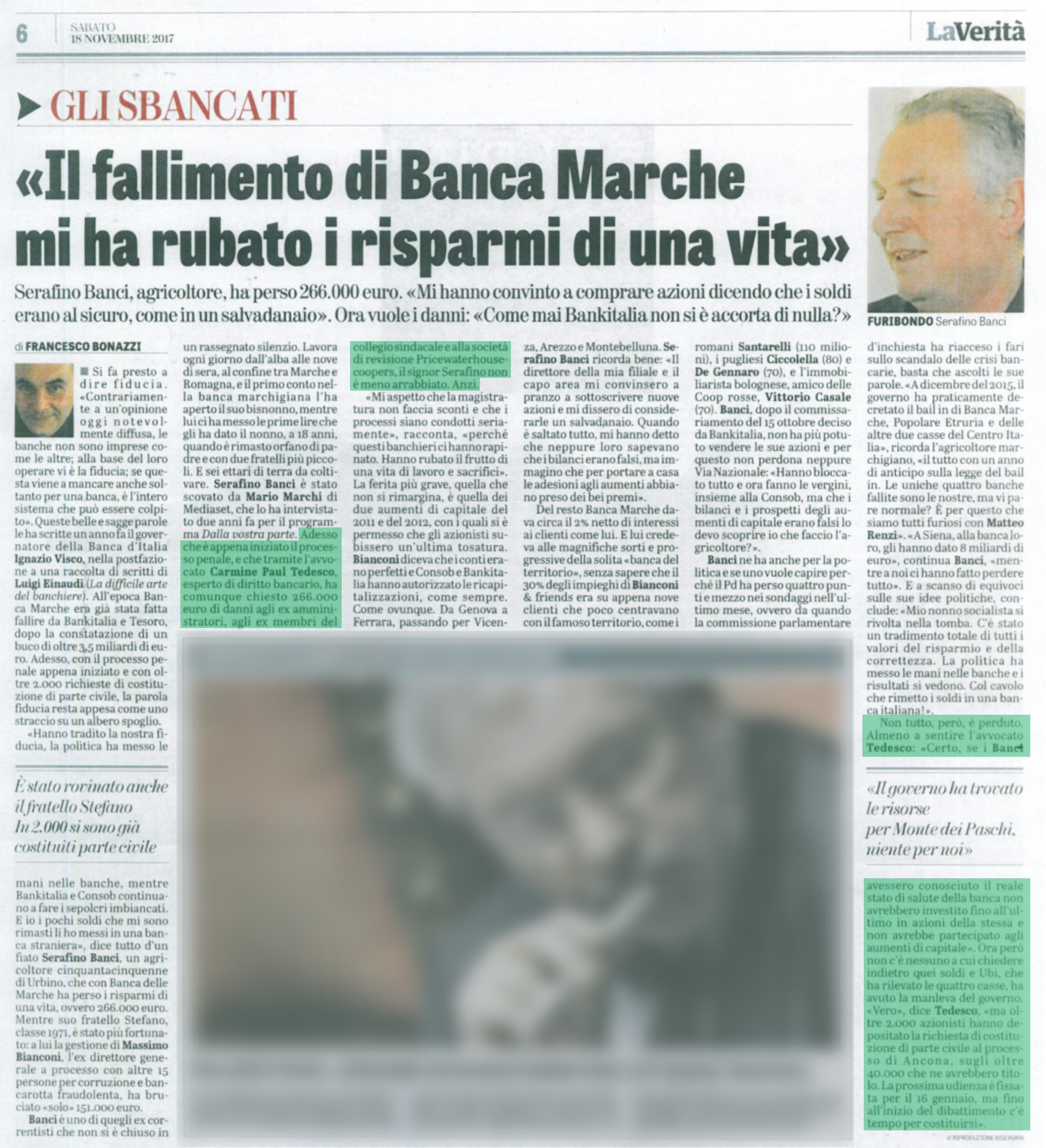Avvocato Carmine Paul Alexander Tedesco